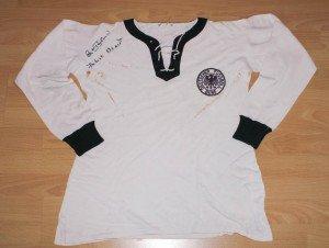 DFB Trikot Herbert Erhardt 1961 (vorne)