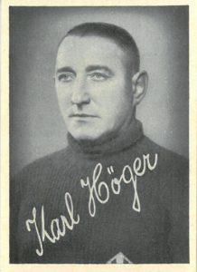 Kicker Bilderwerk, Nummer 114. Karl Höger, SpVgg Fürth