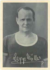 Kicker Bilderwerk, Nummer 202, Sepp Müller (SpVgg Fürth)
