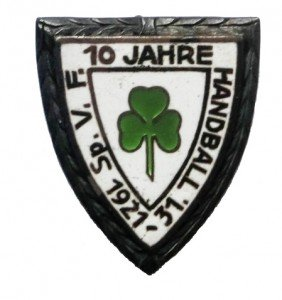 Nadel der Handballabteilung der SpVgg Fürth zum 10-jährigen Bestehen