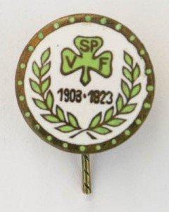 Nadel der SpVgg Fürth von 1923 anläßlich des 20-jährigen Jubiläums