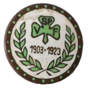 Nadel der SpVgg Fürth von 1923 zum 20-jährigen Jubiläum