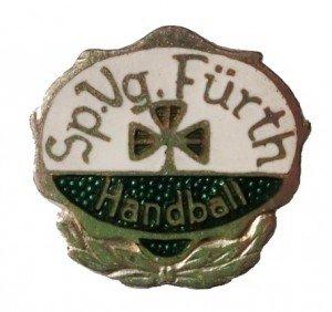 Anstecknadel SpVgg Fürth Handball (silber)