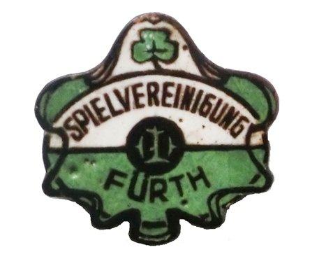 Anstecknadel SpVgg Fürth 20er Jahre