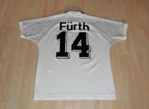 SpVgg Fürth Trikot aus der Saison 1995 / 1996