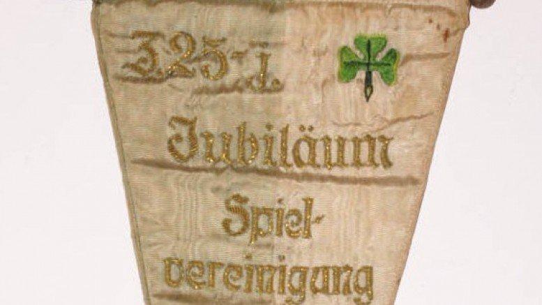 Wimpel der SpVgg Fürth 1928 (25 Jahre)
