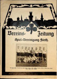 Vereinszeitung der SpVgg Fürth von 1924; 1. Jahrgang, Nummer 1