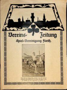 Vereinszeitung der SpVgg Fürth von 1924; 1. Jahrgang, Nummer 2