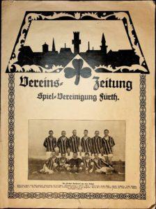 Vereinszeitung der SpVgg Fürth von 1924; 1. Jahrgang, Nummer 3