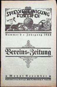 Vereinszeitung der SpVgg Fürth von 1925, Nummer 2