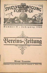 Vereinszeitung der SpVgg Fürth von 1926, Nummer 11