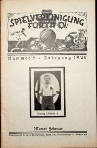 Vereinszeitung der SpVgg Fürth von 1926, Nummer 2