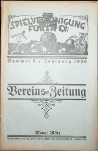 Vereinszeitung der SpVgg Fürth von 1926, Nummer 3