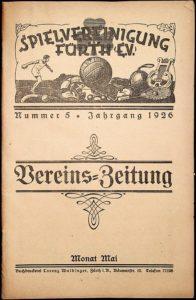 Vereinszeitung der SpVgg Fürth von 1926, Nummer 5