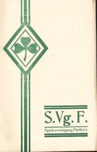 Vereinszeitung SpVgg Fürth 1927