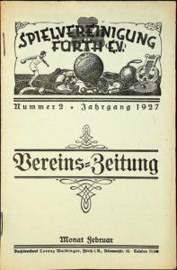 Vereinszeitung der SpVgg Fürth von 1927, Nummer 2