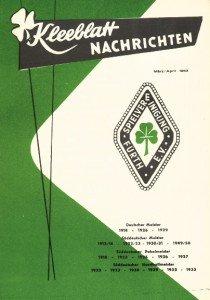 Vereinszeitung SpVgg Fürth 3/1963