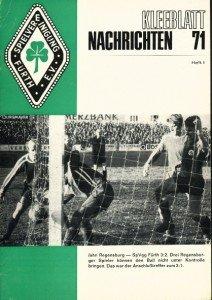 Vereinszeitung SpVgg Fürth 1/1971