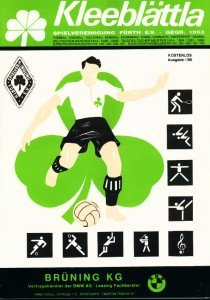Vereinszeitung der SpVgg Fürth von 1990